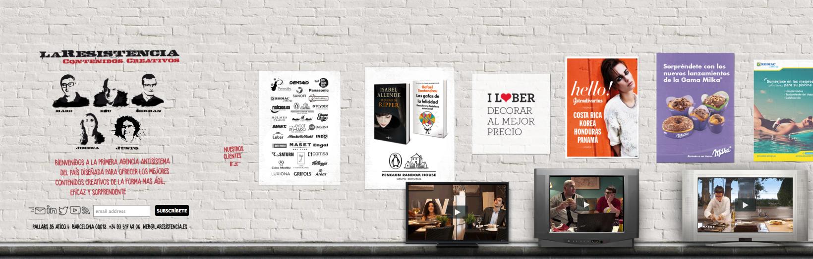 Laresistencia agencia de publicidad en barcelona - Agencias de limpieza barcelona ...